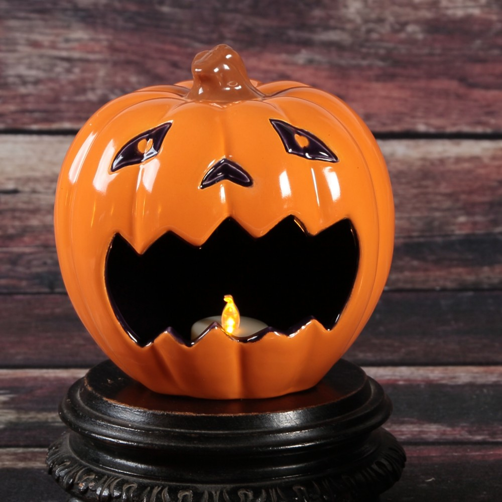 Frightful Pumpkin Candy Holder - Case of 4