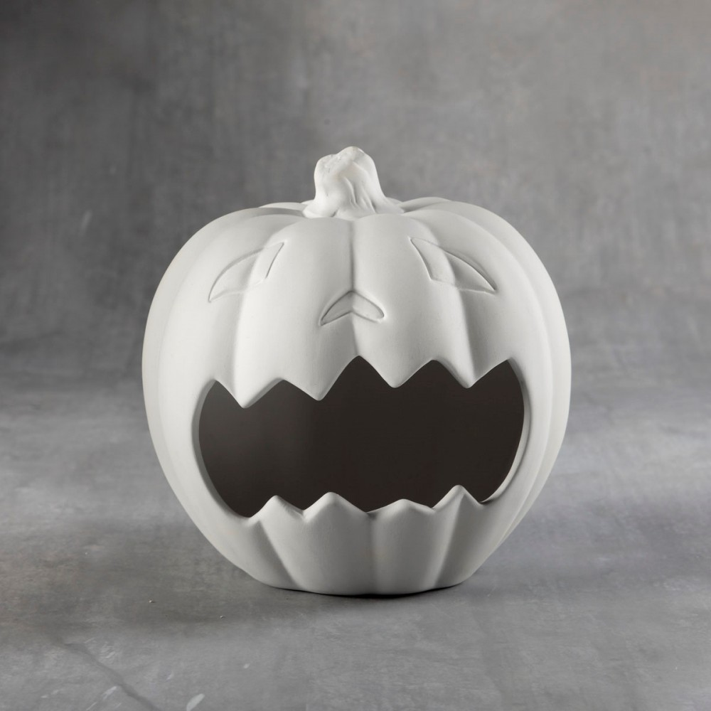 Frightful Pumpkin Candy Holder