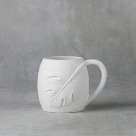 Monstera Leaf Mug  - Case of 6