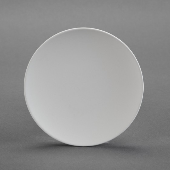 unfinished Ceramic bisque Coupe Dessert Plate