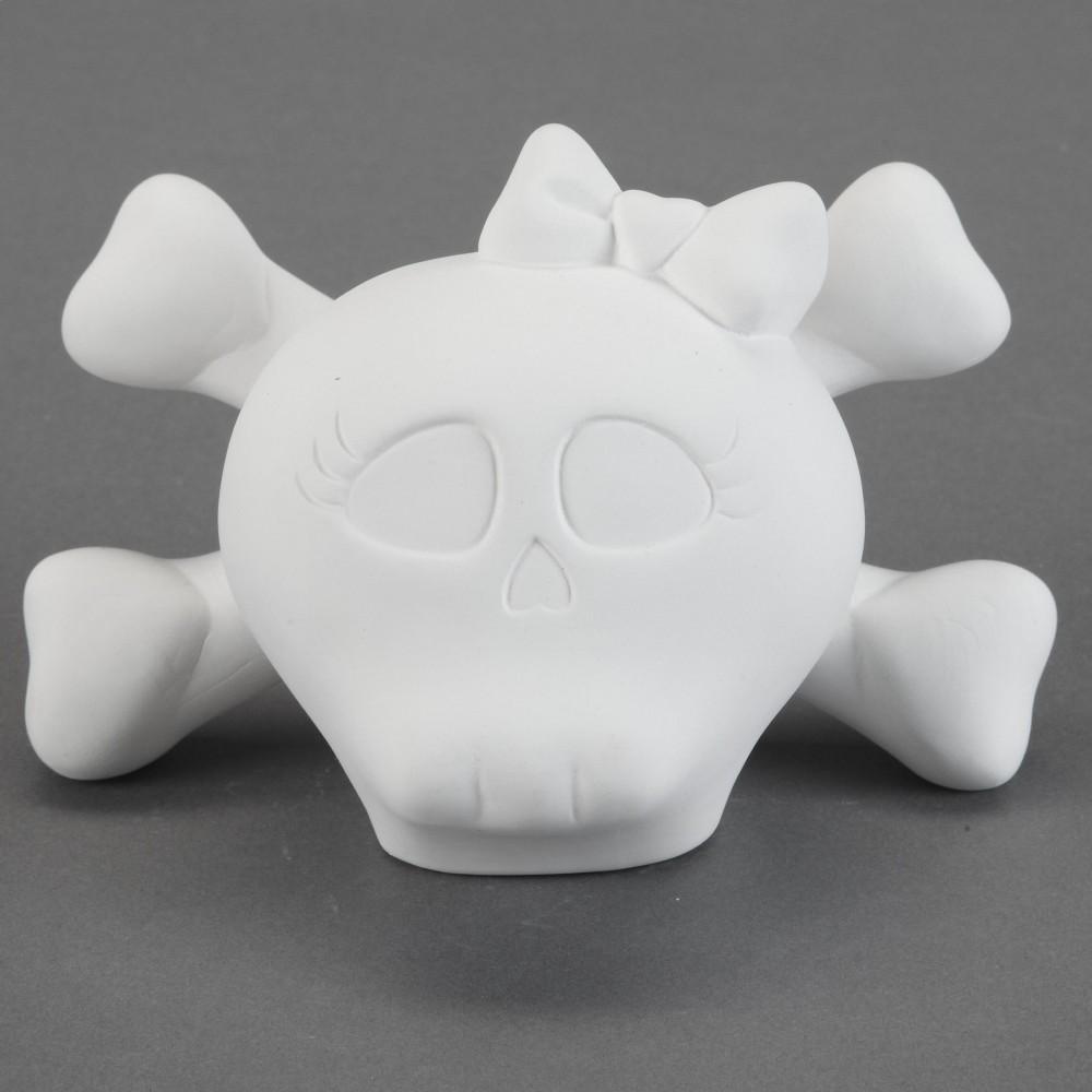 Baby Doll Skull Bank