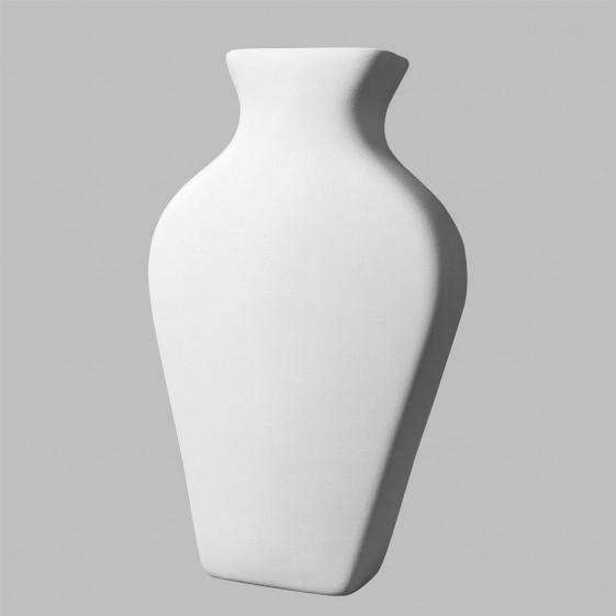 Flat Vase Case Of 3