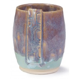 SW-150 Celadon Bloom Under SW-110 Oyster Stoneware Combination