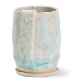 SW-150 Celadon Bloom Under SW-118 Sea Salt Stoneware Combination