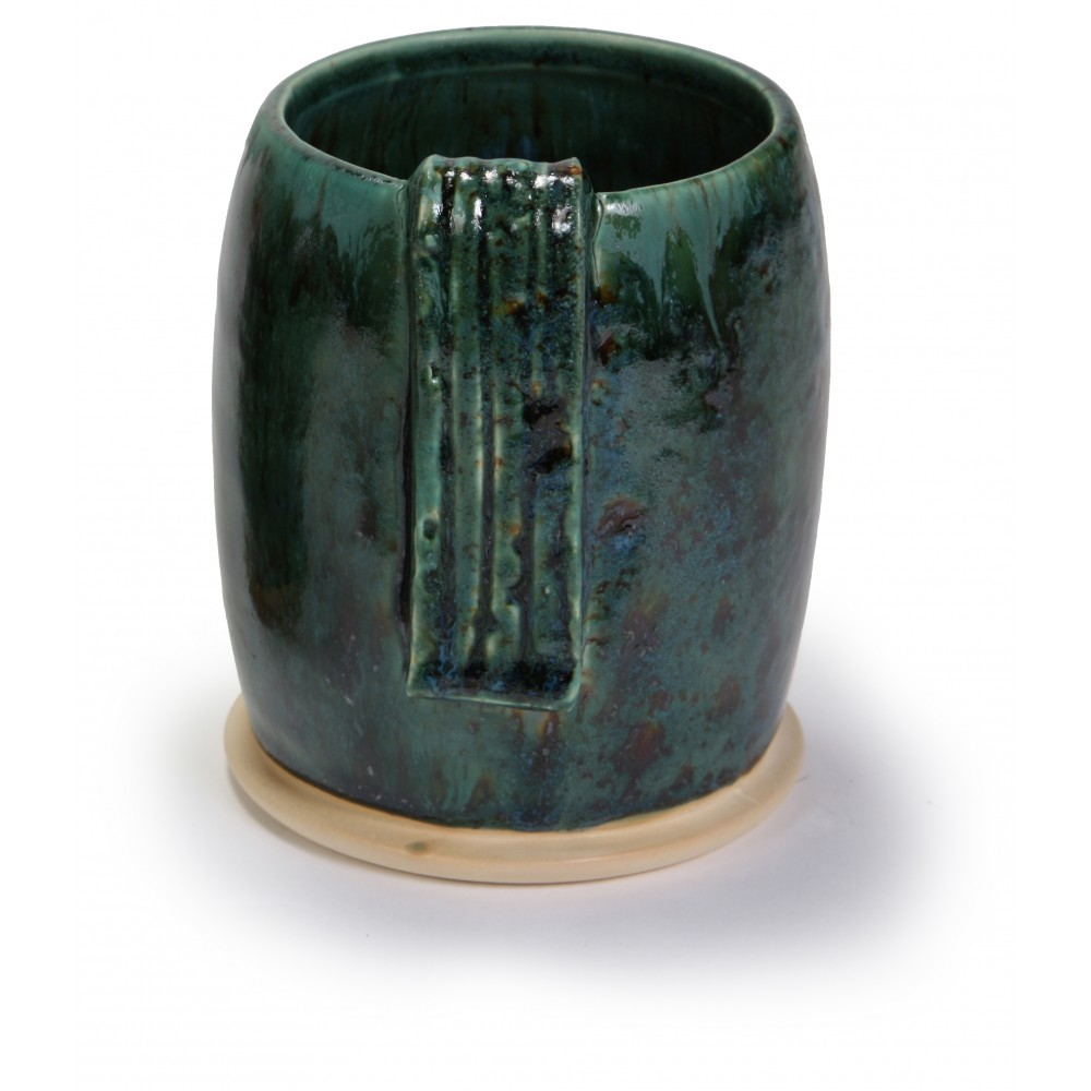 SW-154 Shipwreck Over SW-164 Satin Patina Stoneware Combination