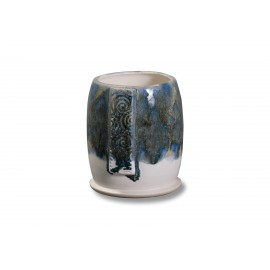 SW-179 Muddy Waters Over SW-167 Sand & Sea Stoneware Combination