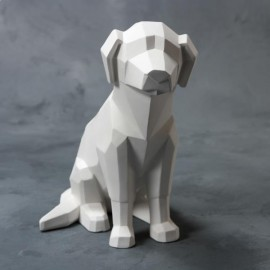 Faceted Dog - Case of 4
