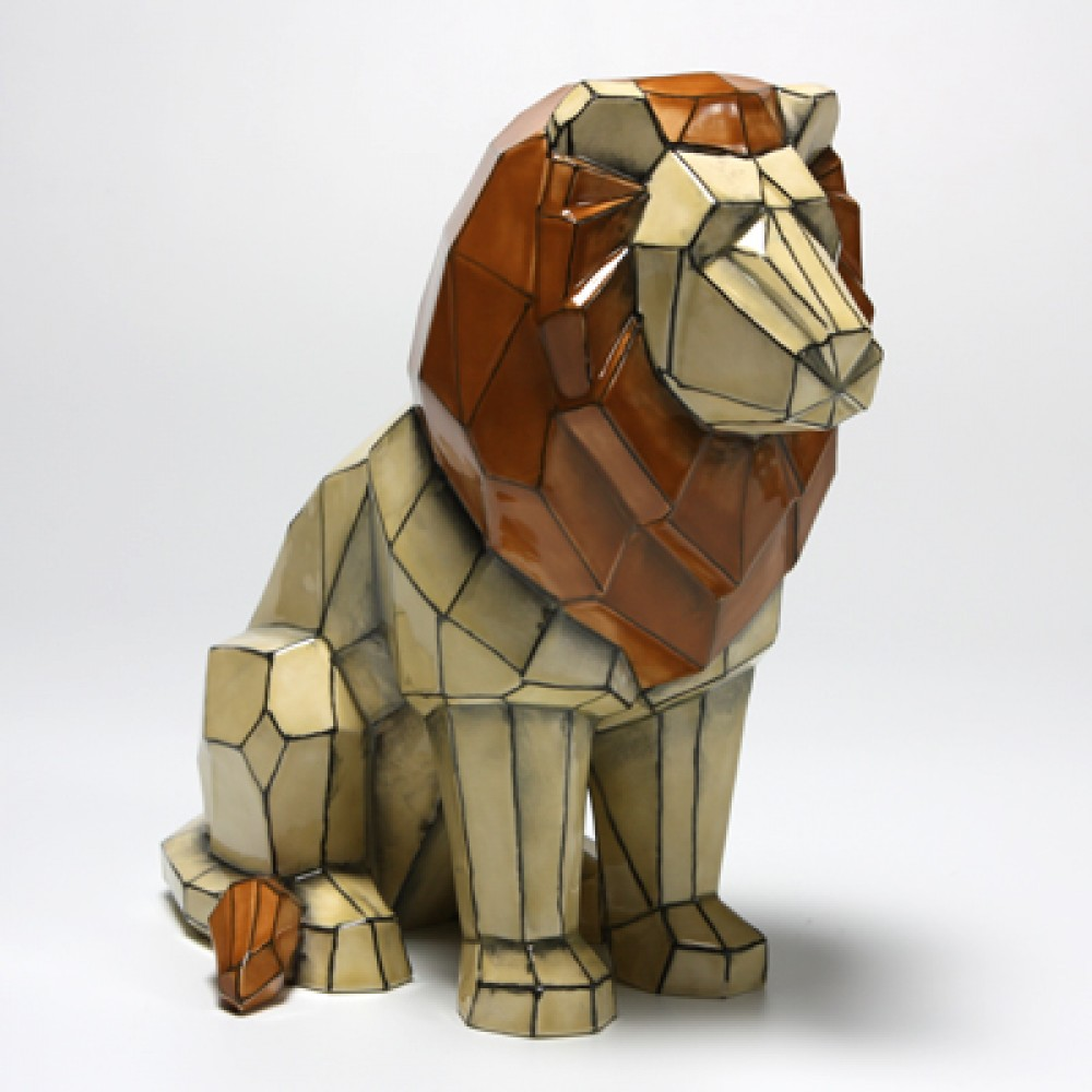 Faceted Lion In Ready To Paint Unfinished Ceramic Pottery 10+ lion face tattoo outlines ideas   lion … перевести эту страницу. to paint unfinished ceramic pottery