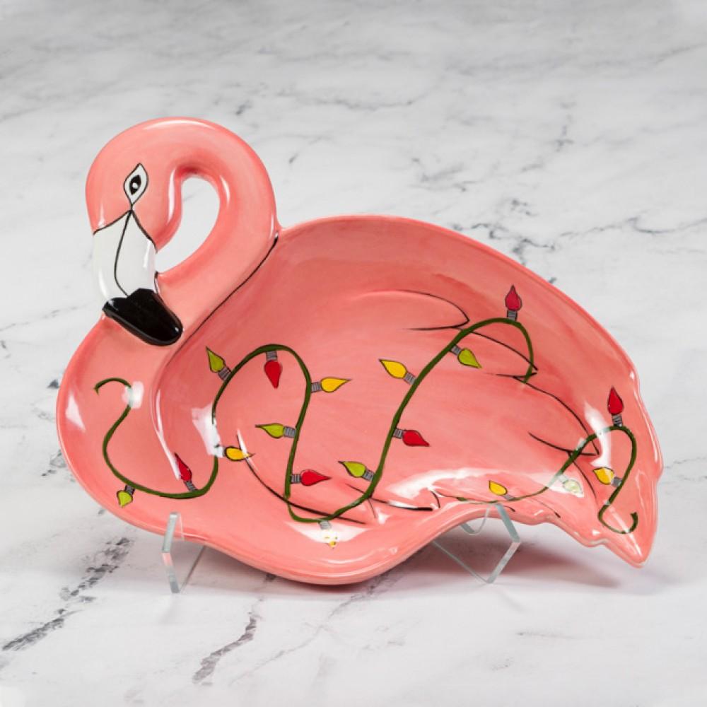 Frieda Flamingo Dish - Case of 6