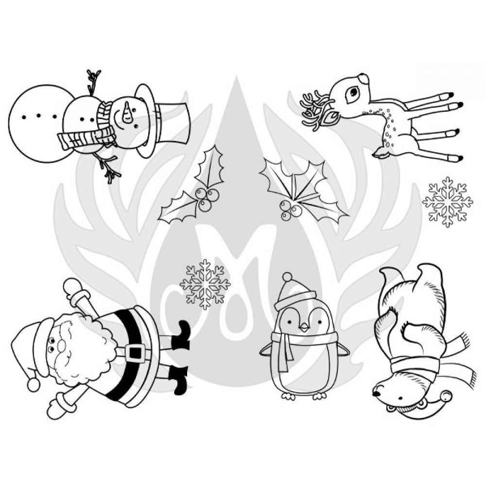 Holiday Icons Designer Silk Screen