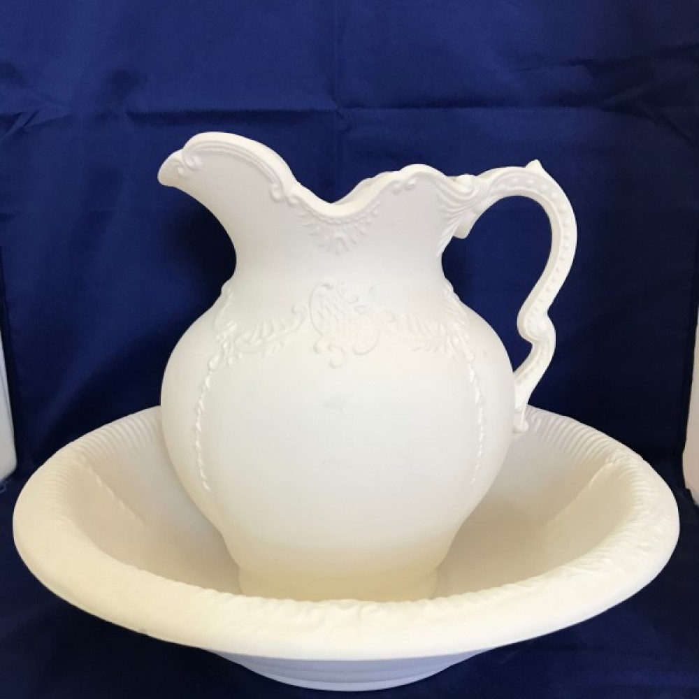 Bowl And Pitcher Set
