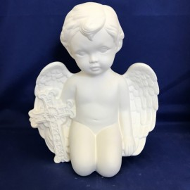 Cherub With Cross (large)