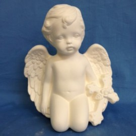 Cherub With Cross (Large) - Case of 3
