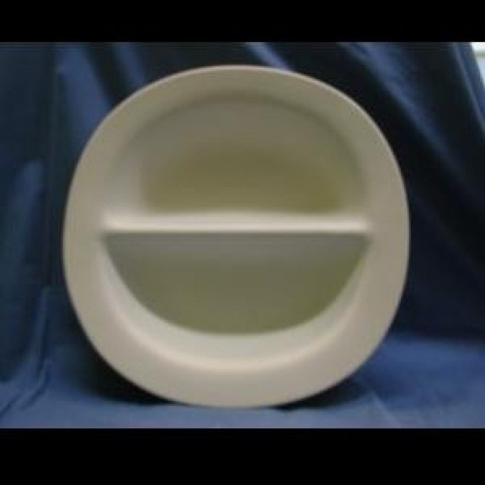 Divided Rim Dish- Case of 6